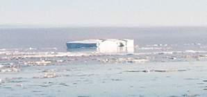 Mon premier iceberg