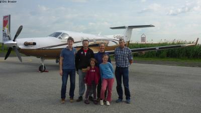 Depart de Montreal avec Luc et Georges