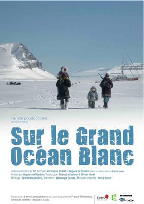 Affiche Sur le grand ocean blanc www