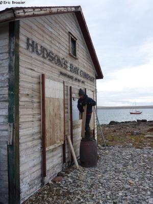 France ouvre la cabane de Fort Ross