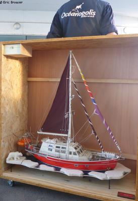 Maquette de Vagabond à Oceanopolis