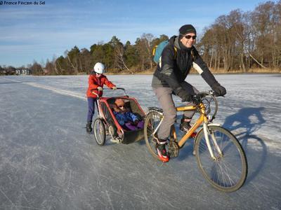 Pédaler et patiner en Suède