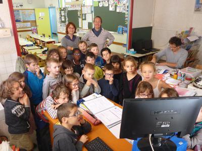 Rencontre classe de Aurore Ecole Hanvec