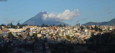 Tungurahua depuis Ambato