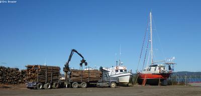 Vagabond à Goose Bay le 28 Septembre 2016