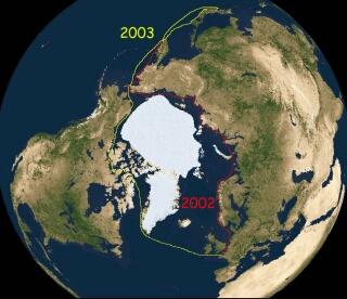 Vagabond autour de l'Arctique