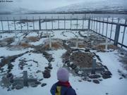 Cimetiere a cote du site d hivernage de Vagabond