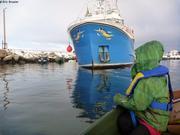 Bateau echoue dans port de Qikiqtarjuaq
