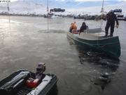 Retour au port Qikiqtarjuaq