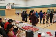 Fete au gymnase de Qikiqtarjuaq