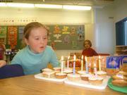 Leonie 7 ans a Qikiqtarjuaq