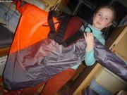 Un kite pour les 7 ans de Leonie