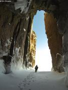 Leelee entree grotte Broughton