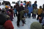Sortie scolaire peche lac gele