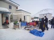 Depart des suisses pour 15 jours de ski de couloir