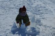 Aurore travaille la neige