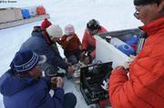 Arctic Char tout juste peche