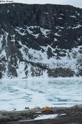 Camping au bord du fjord