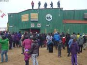 Lancer de bonbons Nunavut Day