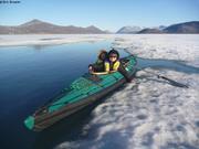 Dans le grand kayak