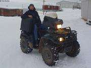 Depart Eric pour l'Antarctique