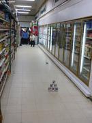 Chamboule-tout dans magasin de Qikiqtarjuaq