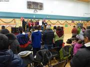 Messe de Noel au gymnase