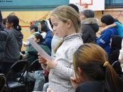 Leonie chante en inuktitut