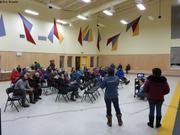 Presentation GreenEdge a la mairie de Qikiqtarjuaq