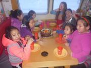 Copines a bord pour anniversaire