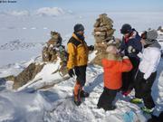 Rando a ski au-dessus de Qikiqtarjuaq