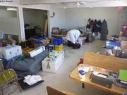 Organisation base logistique GreenEdge a Qikiqtarjuaq