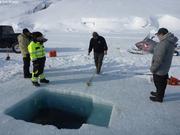 Philip mesure profondeur sous le trou