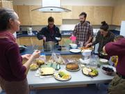 Repas de fin des cours d Inuktitut
