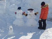 Concours de bonhommes de neige