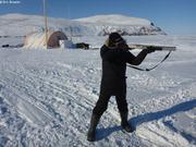 Marcel teste fusil