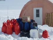 Equipements de survie au camp de glace