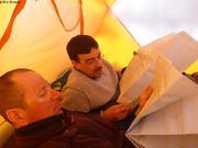 Eric et Christian etudient les cartes