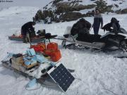 Sechage EM31 glaciometre