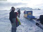 Juste avant la slush entre Nedlukseak et Qikiqtarjuaq