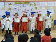 Kindergarden graduation Qikiqtarjuaq 2015