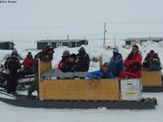 Depart pour camp de glace