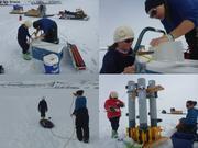 Leonie au camp de glace