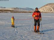 Aurore et Eric a ski