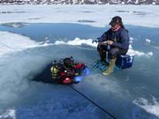 170 Plongee sous glace mince