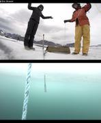 Branwen et Jochen sur glace mince