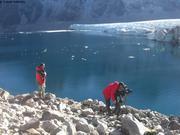 Tournage glacier Couronnement