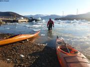 Fin d une belle sortie en kayak
