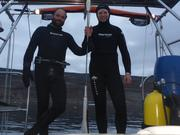 Plongee avec Yves pour changement anodes