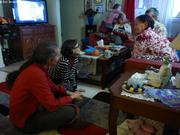 Chez Raygeelee et Silazie avec Michele et Julie